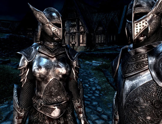SPOA Silver Knight Armor @rights reserved D.F.