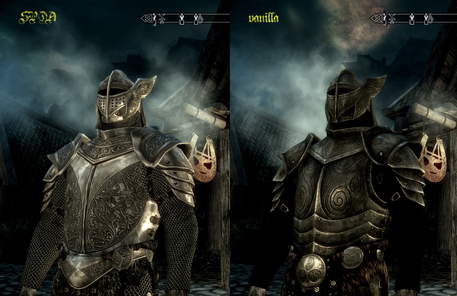 Silver Knight Armor @rights reserved D.F.