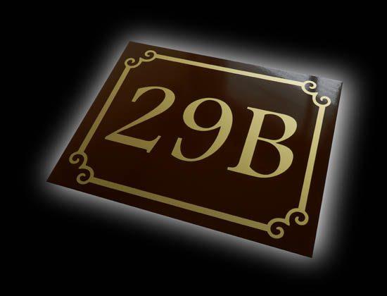 tabliczka adresowa wzór C