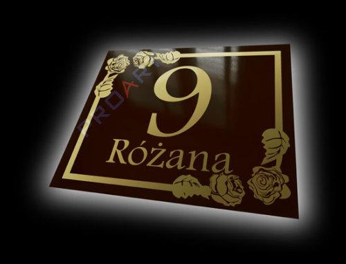 tabliczka adresowa wzór R